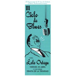 Pósters Ciclo de Blues Música Fundamental